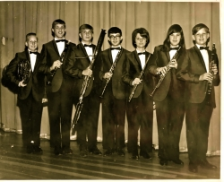 Woodwinds - April 1966  (More photos in Photo Albums Page)