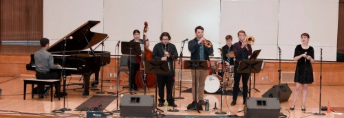 Tower Bridge Trad Combo at the Trad Jazz Youth Band Festival, 2018