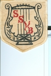 Original patch worn on white tux jacket for Sacramento Symphonic Youth Band